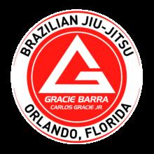 Gracie Barra Orlando Logo
